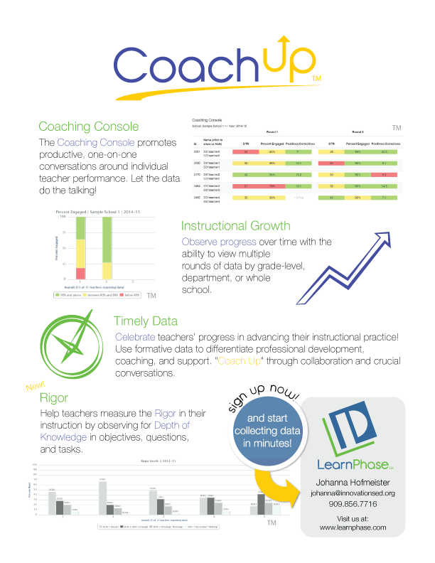 Coachup Sales Flyer Jeff Gomez Design